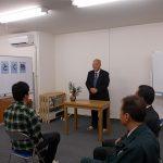 日本財団職親プロジェクト福岡の対象者ハーバーアカデミー第7期生入塾式が挙行されました。