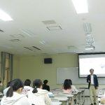 二宮塾長が九州女子大学で講義をされました
