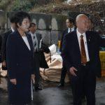 平成30年1月10日上川陽子法務大臣が,ヒューマンハーバーを視察にお出で頂きました