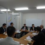 4月19日 東京都大田区の椿区議(公明党)他3名の先生方のご視察がありました